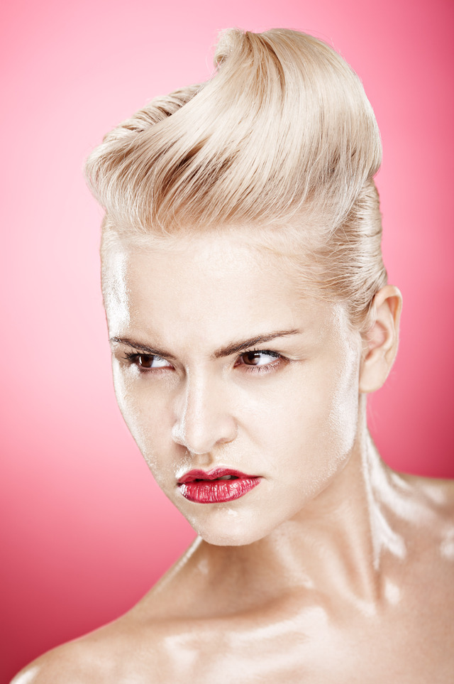 Photo Lalli Sig, Hair by me, Make up Eva, Model Maria