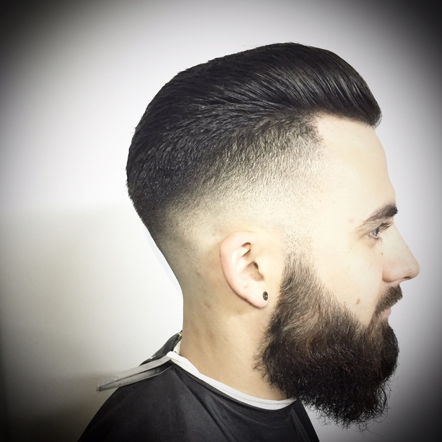 Men's skin tight contoured taper .