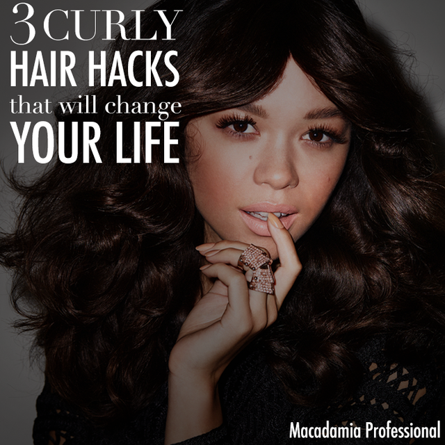 hair styling hacks 3 curly hair hacks that will change your bangstyle 7083