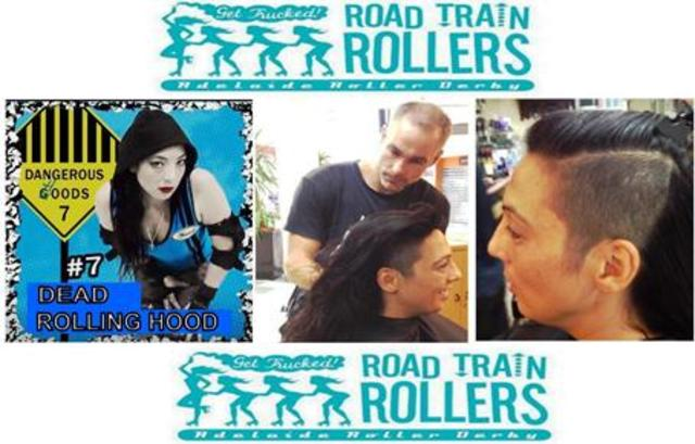"Hair Tattoo signature by """"Road Train Rollers"""""