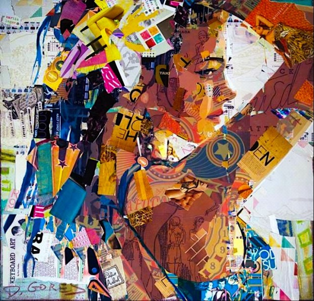 Derek Gores Collages