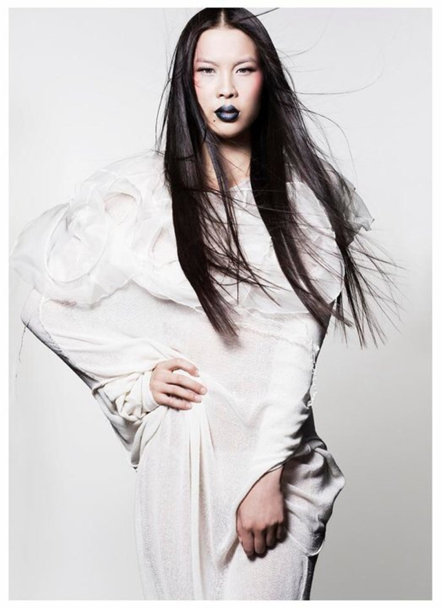 HAIR- Josh Angell PHOTOGRAPHER- Jessica Sim MAKEUP- Kei Kei MODEL- red11