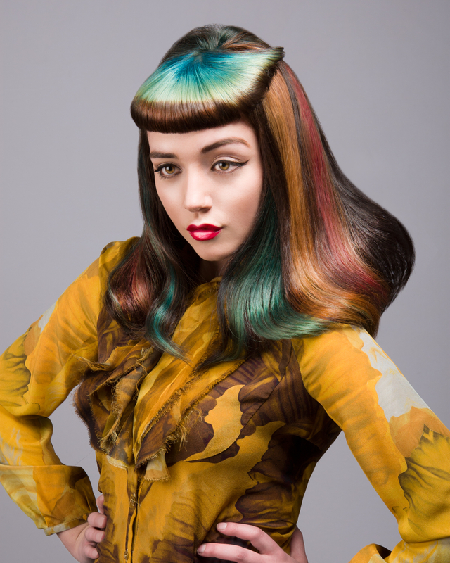 2012 throwback. Finalist for UK Wella Trendvision. Hair Colour by Clayde Baumann.