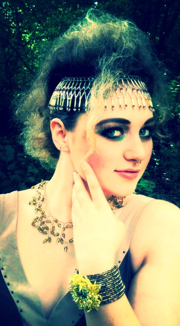 Hair by Katt Makeup by Jennifer Cote Jewelry by ShaBeads/ Model: Lauren