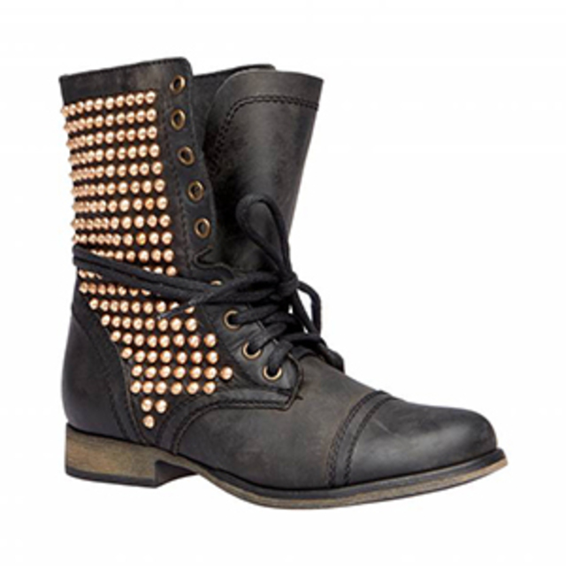 Steve Madden Tulsa Black Multi Boot