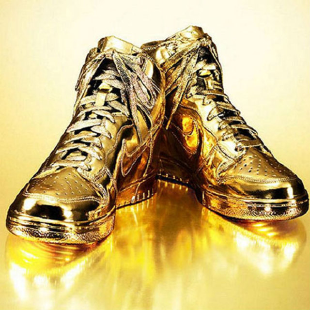 gold_nike_sneakers