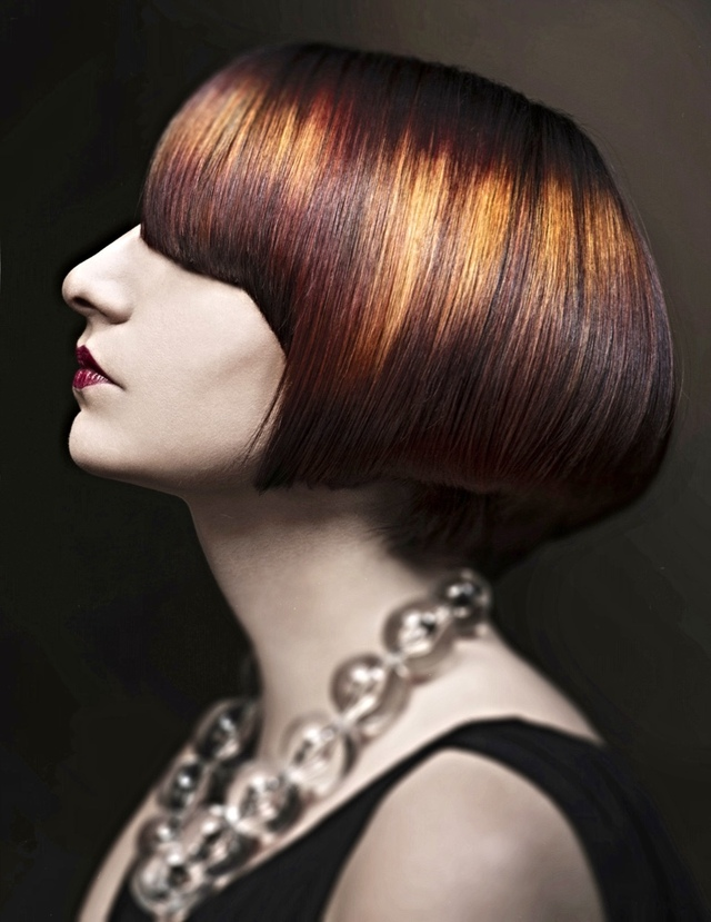 "NAHA 2014 Color submission. Cut/Color/vision : Terry Graham Collection Name: ""Luxe"" Photography: Anthony Grassetti Photography MUA: Heather Schofield"