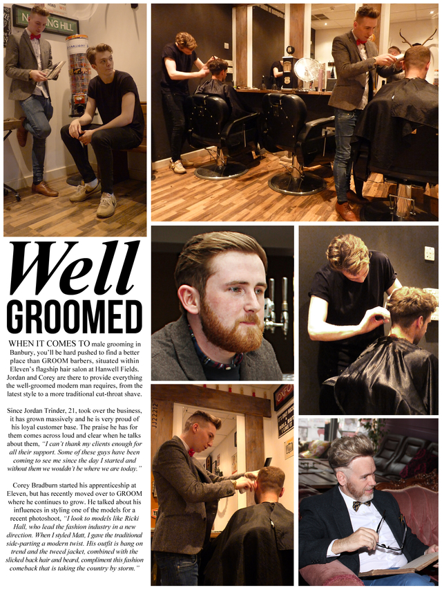 My internal Barbershop article