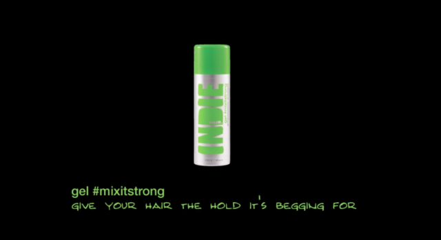 INDIE HAIR gel #mixitstrong