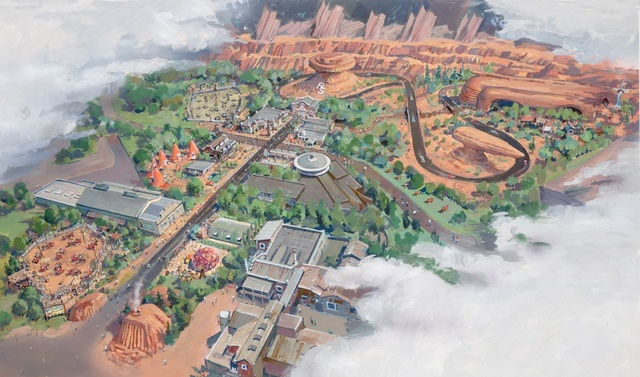 Cars_Land_map