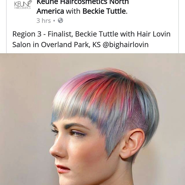 Keune color cravings contest! Vote for me in region3