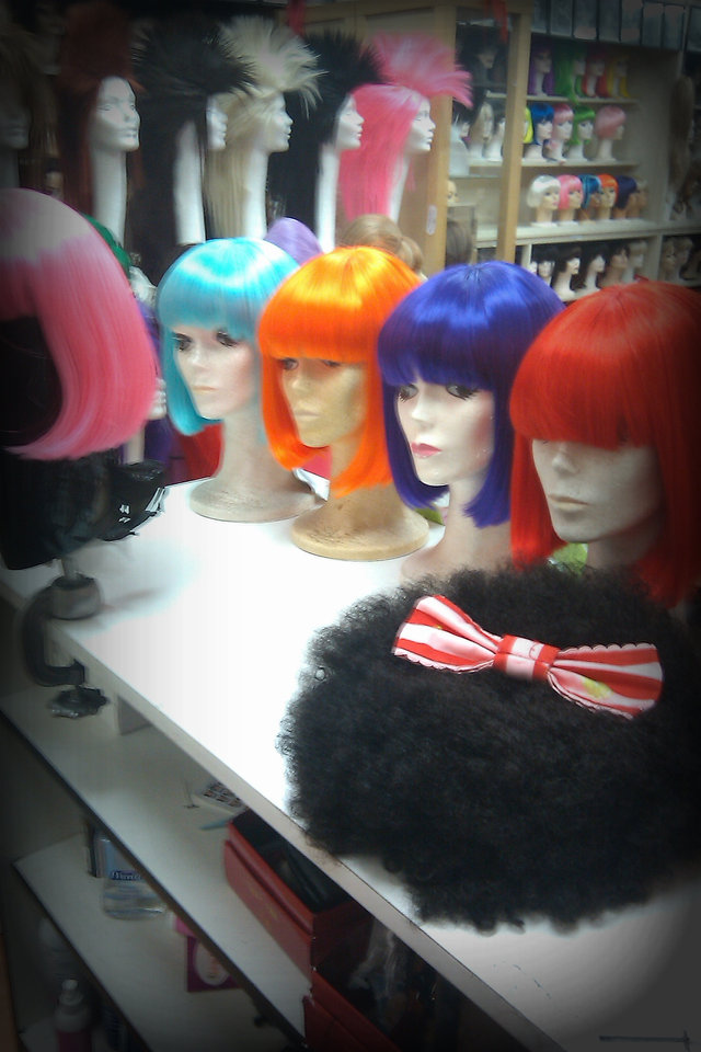 "Wigs for Lil Mama Music video """"Scrawberry"""""