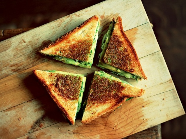 green goddess grilled cheese recipe