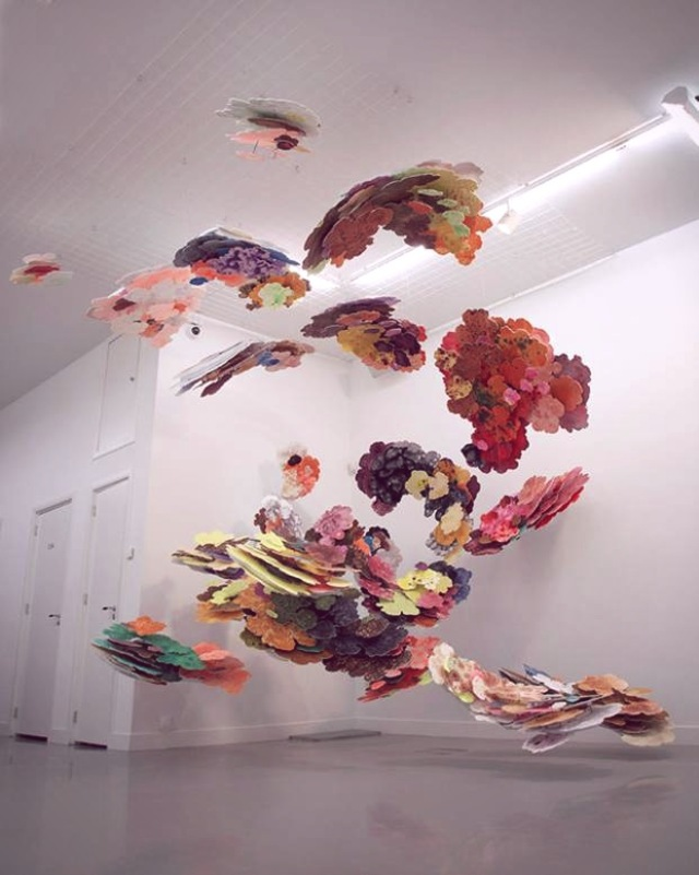 Suspended Cloud Paintings