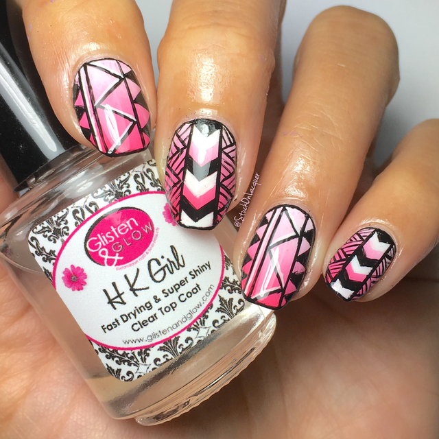 Pink Tribal - Ane Li inspired