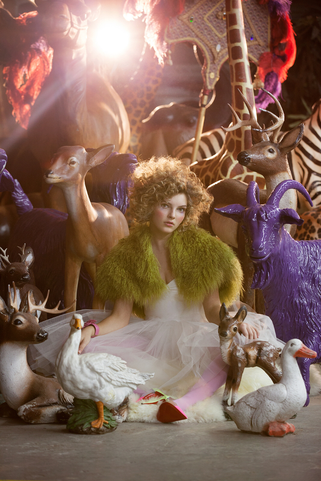Editorial with Camren Bicondova of Gotham on FOX for Lampoon Magazine
