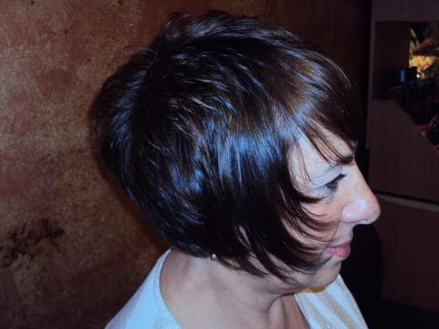 cut & color by Irma Wheeler
