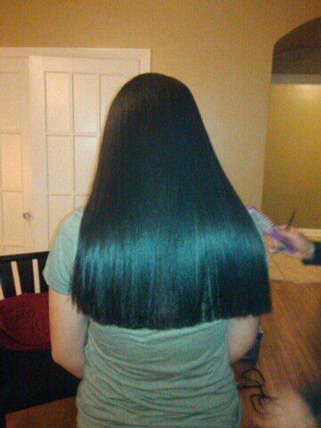 Cut and straighten