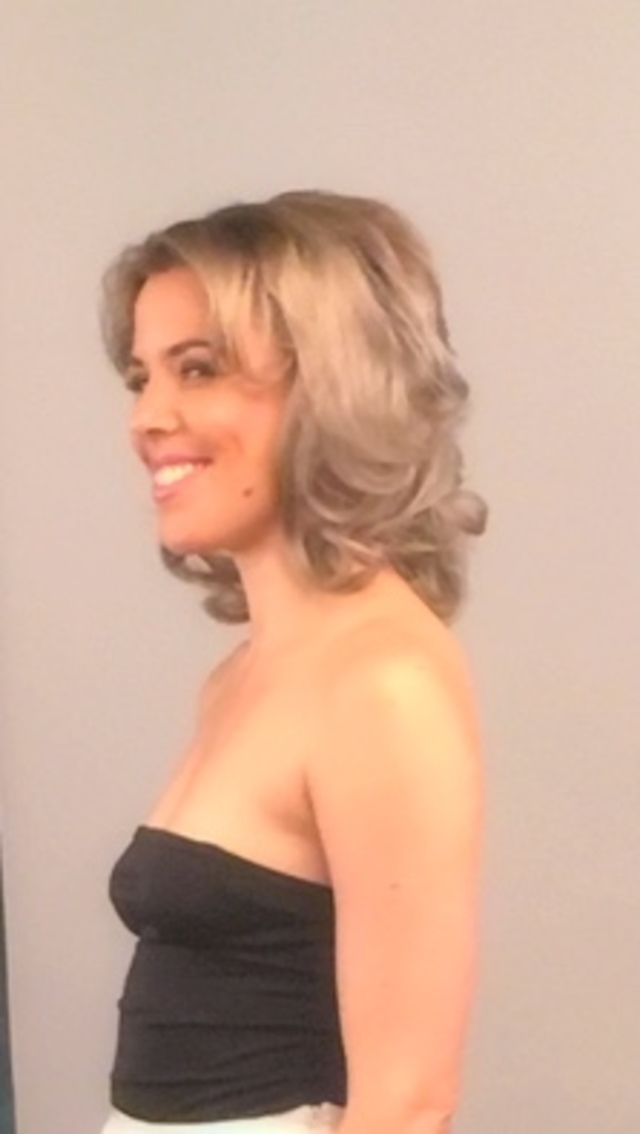 Val Frazee hair behind the scenes photo shoot
