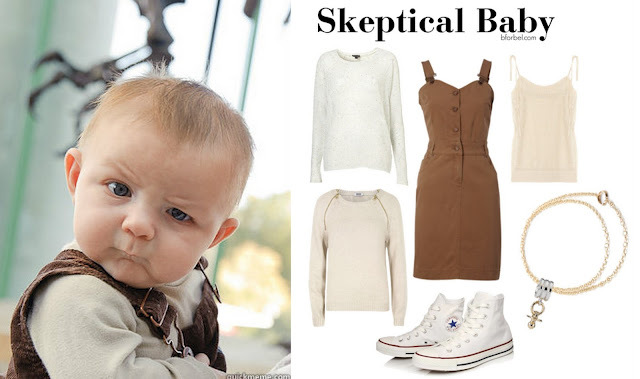 Skeptical Baby Outfit