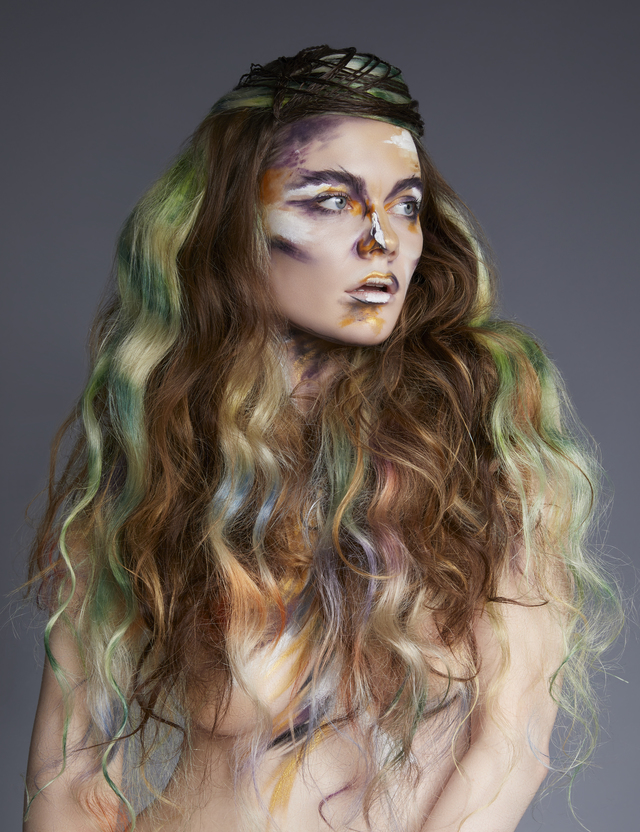 Mandy Rogers-Hunt & Gather hair company -Neo impressionist collection image 5