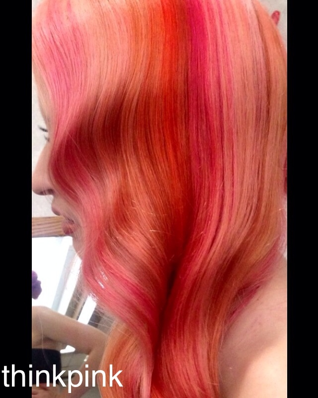 Behind the scenes 2016 Contessa master colorist #candy #pink