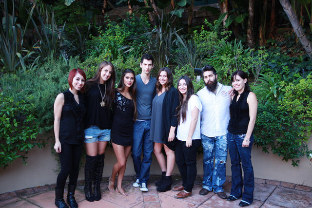The photoshoot team! Giglianne Braga for Yotam Soloman, INK Magazine