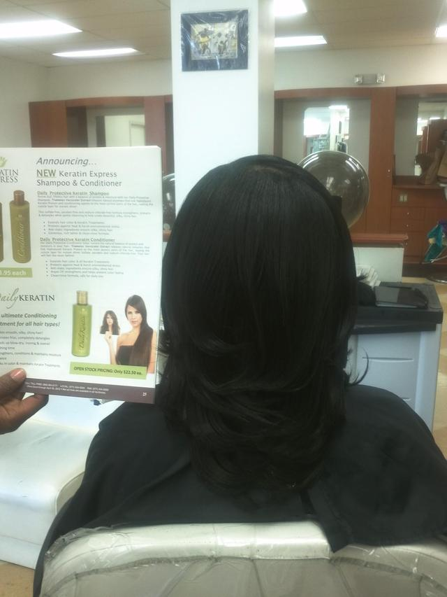 Phusion Press with Keratin