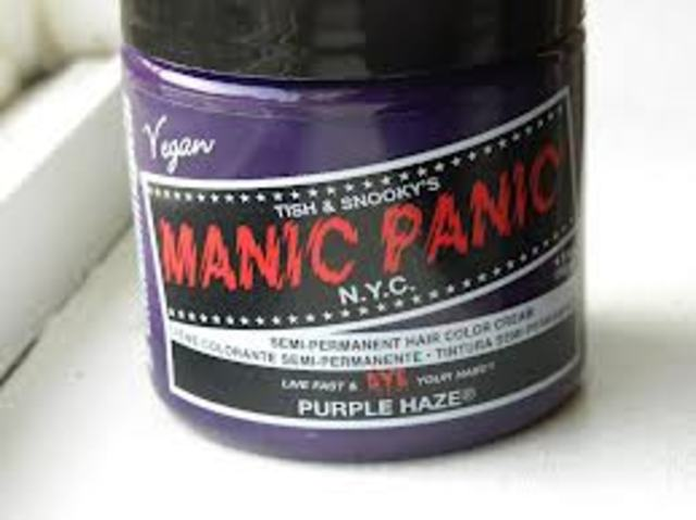 Manic panic Purple haze!