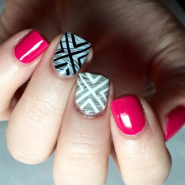 Watermarble over striping tape