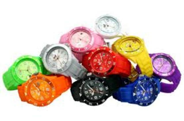 Colorful Ice-Watch Designs
