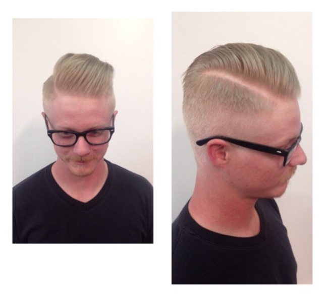 Men's cut by Dottie vee