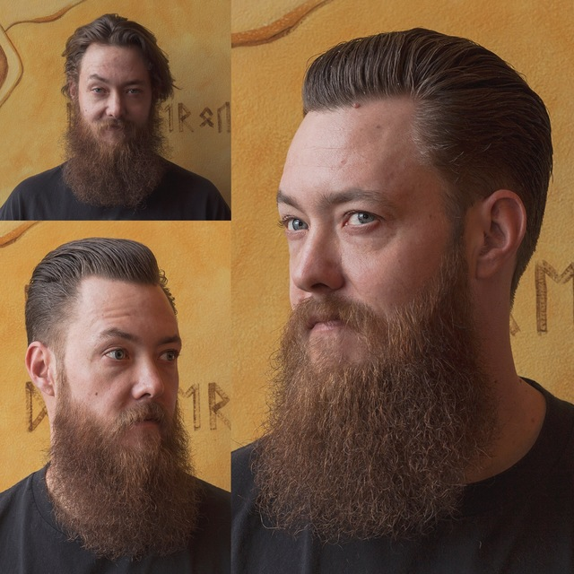 Classic Pomp & Beard Before & After