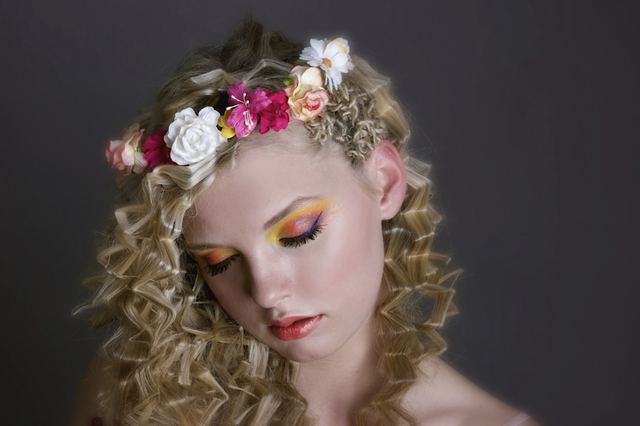Nadia. Image Two Little Starfish MUA Heavenly Faces Lynnette Watson