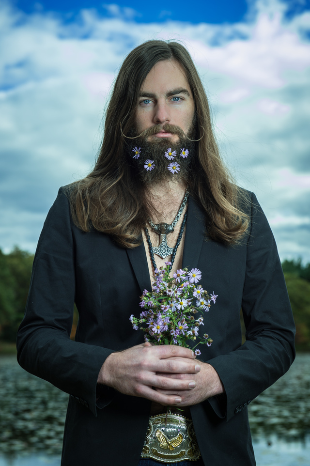 LYLE THOR BEARDS + FLOWERS