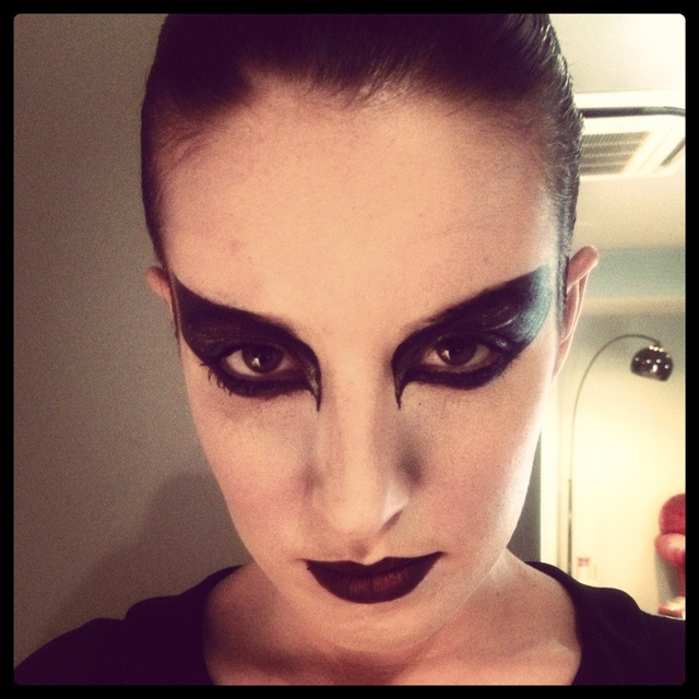 Black Swan Hair and Make Up