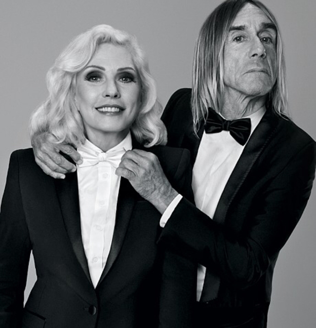 Debbie Harry and Iggy Pop , Paco Rabanne Black XS campaign
