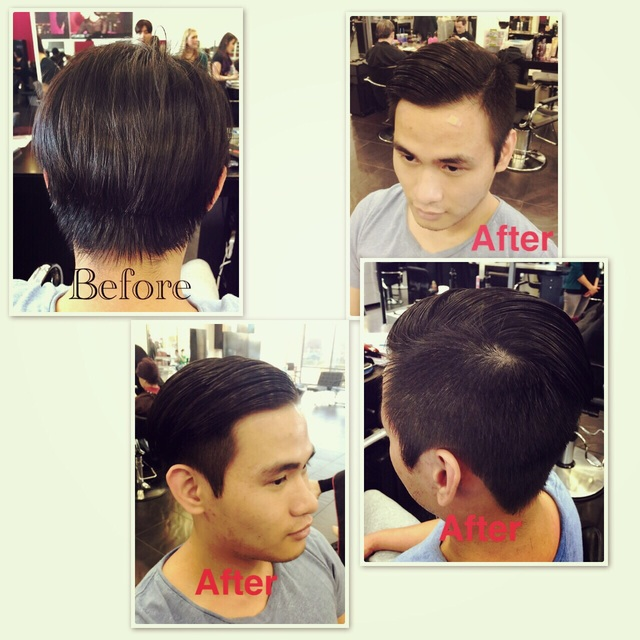 #men #geometric_illusions #bangstyle #combover
