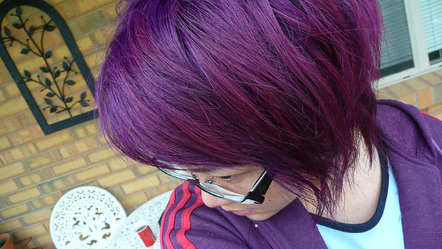 Colored Hair : Purple inspiration