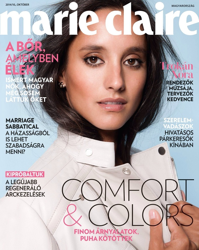 Marie Claire Hungary '14 october cover