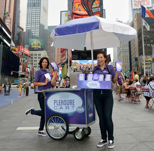 Trojan Vibrations Heats Up New York With A 10,000 Vibrator Giveaway