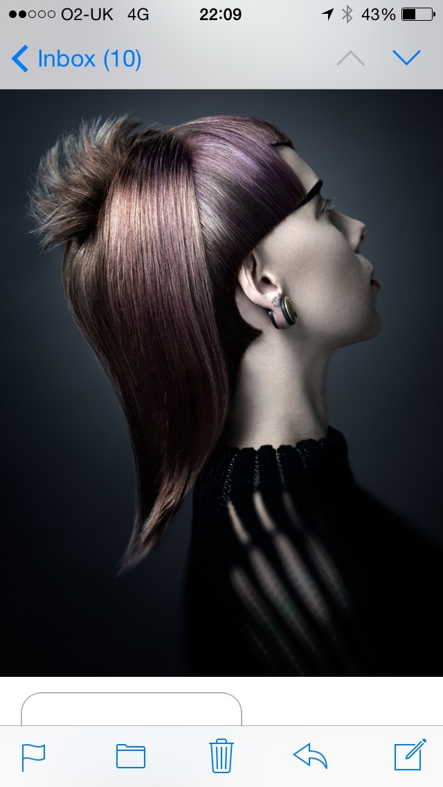 Hair Paul Stafford make up Sharon Watson colour Aidan Bradley photography Lee Mitchell