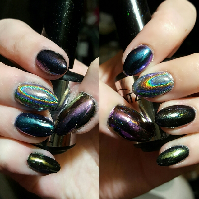 Chrome and holo