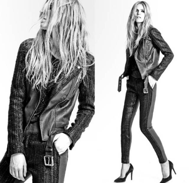 7 For All Mankind Jeans Fall/Winter 2014 Look Book 4