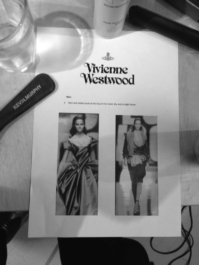 Vivienne Westwood Fashion Week Behind the Scenes