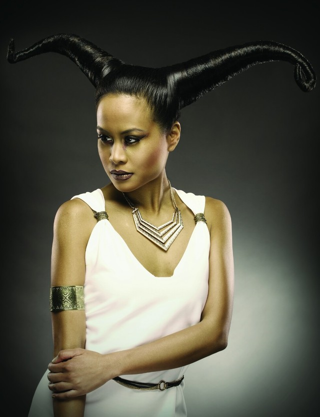 goddess horoscope.  hair by michelle brisson