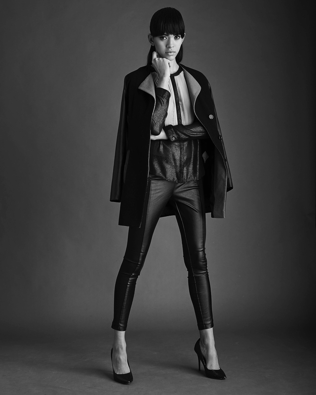 New York Collection Hair by Tearsheet Artist Evie Rivera-Peterson Photo Chris Grosser