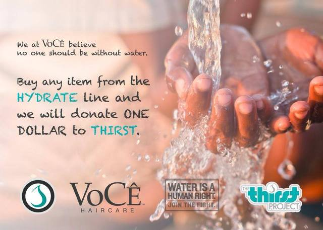 VoCE x Thirst Project
