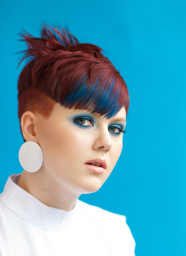 Smith & Davis Salon Cut-Michael Davis Color/Photo-Stevie Smith Makeup- Kelly Haley