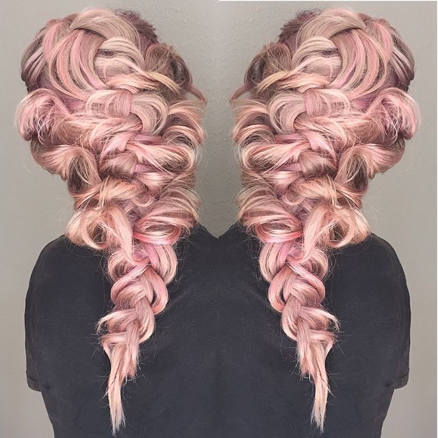Blushing Braid by Mirella Manelli